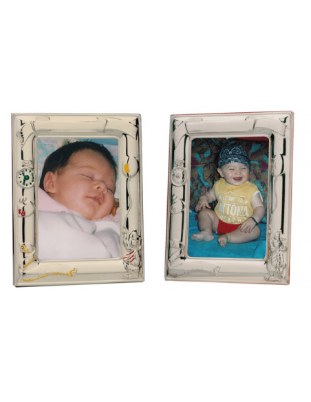 "Silver baby frame ""Birth"""