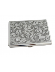 "Silver cigarette holder ""Florentine"""