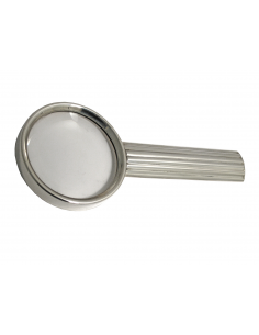 "Sterling silver magnifying glass ""Canne"""
