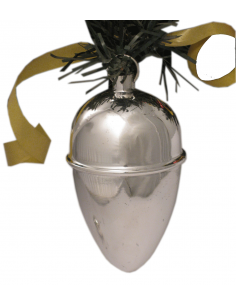 "Silver Christmas decoration ""ChristmasPineCone"""