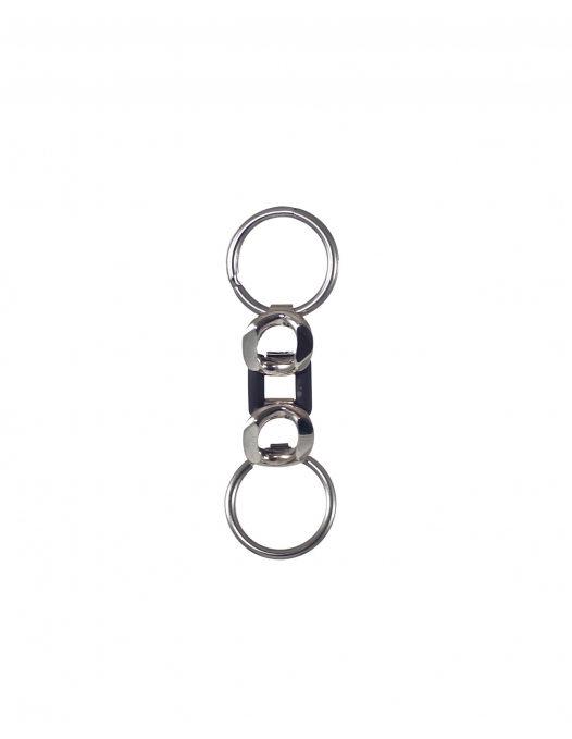 "Sterling silver keyrings ""Bond of Affection"""